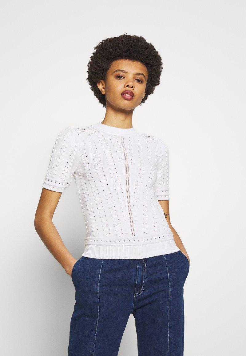 See by Chloé - T-shirt imprimé - white