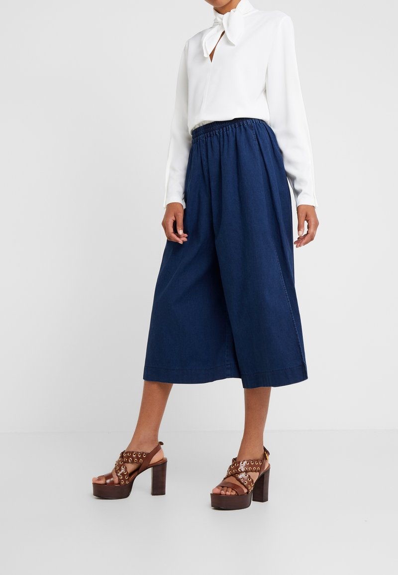 See by Chloé - Flared Jeans - stormy night