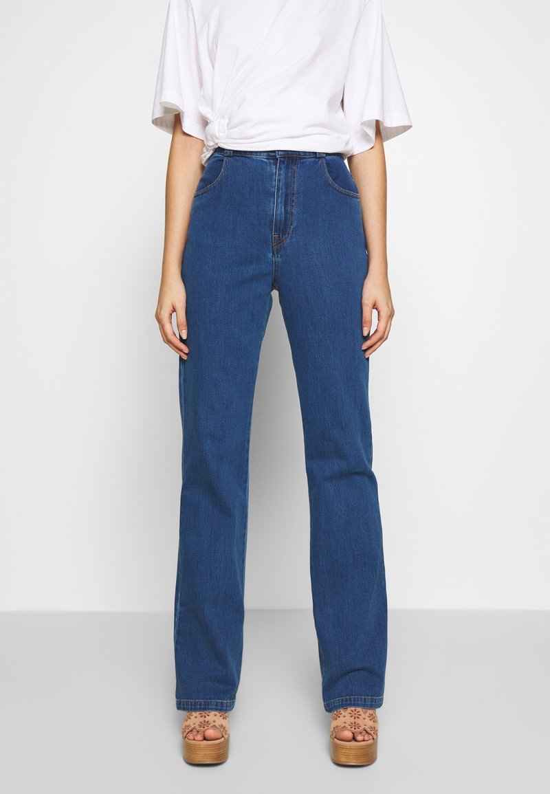 See by Chloé - Jean droit - truly navy