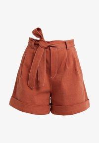 See by Chloé - Denim shorts - auburn orange - 4
