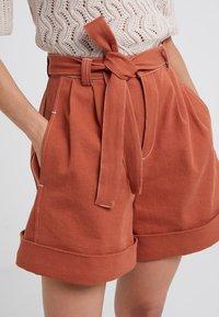 See by Chloé - Denim shorts - auburn orange - 3