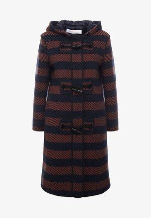 Manteau classique - black/blue