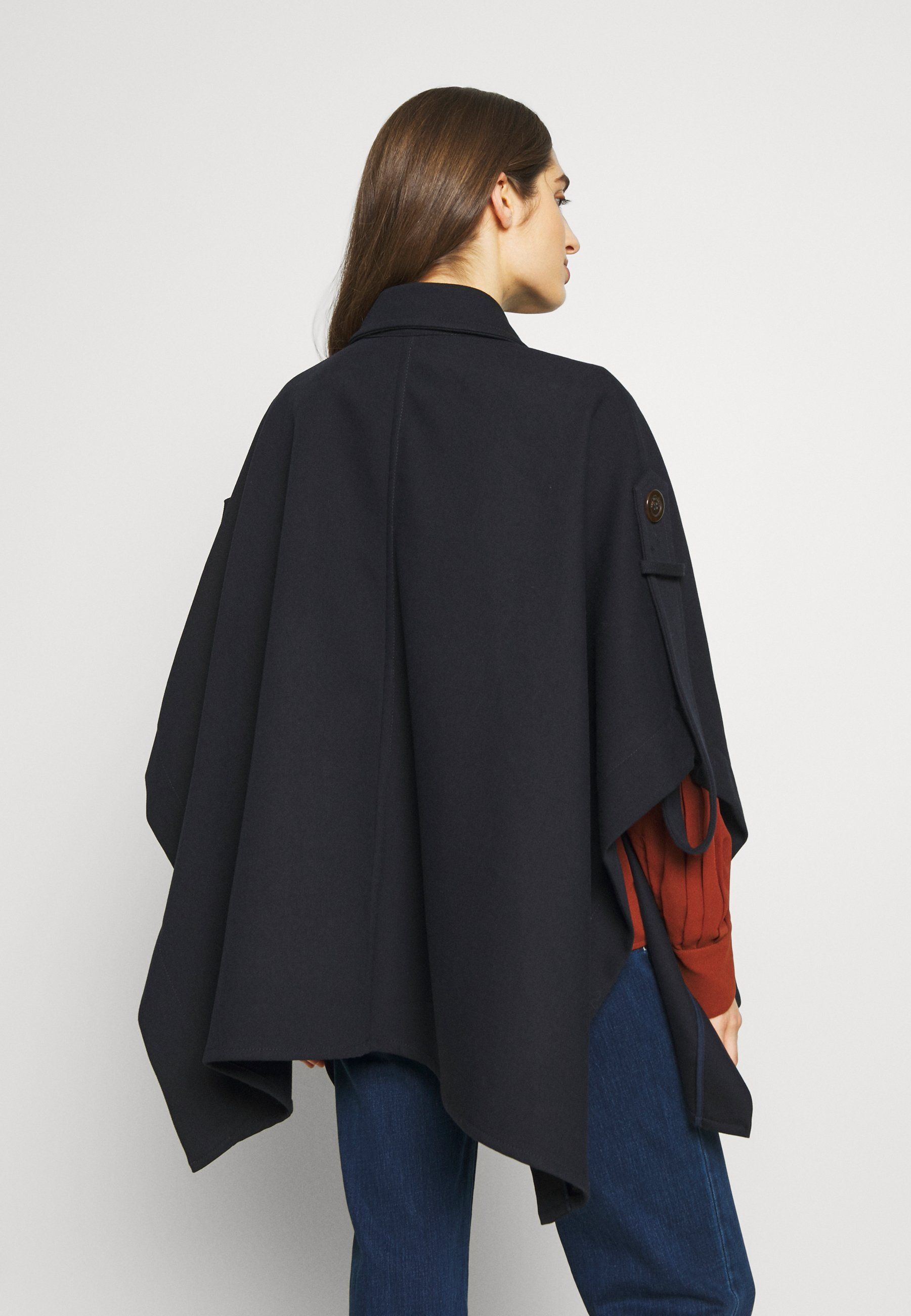 See by Chloé Cape - anthracite blue | Damenbekleidung billig
