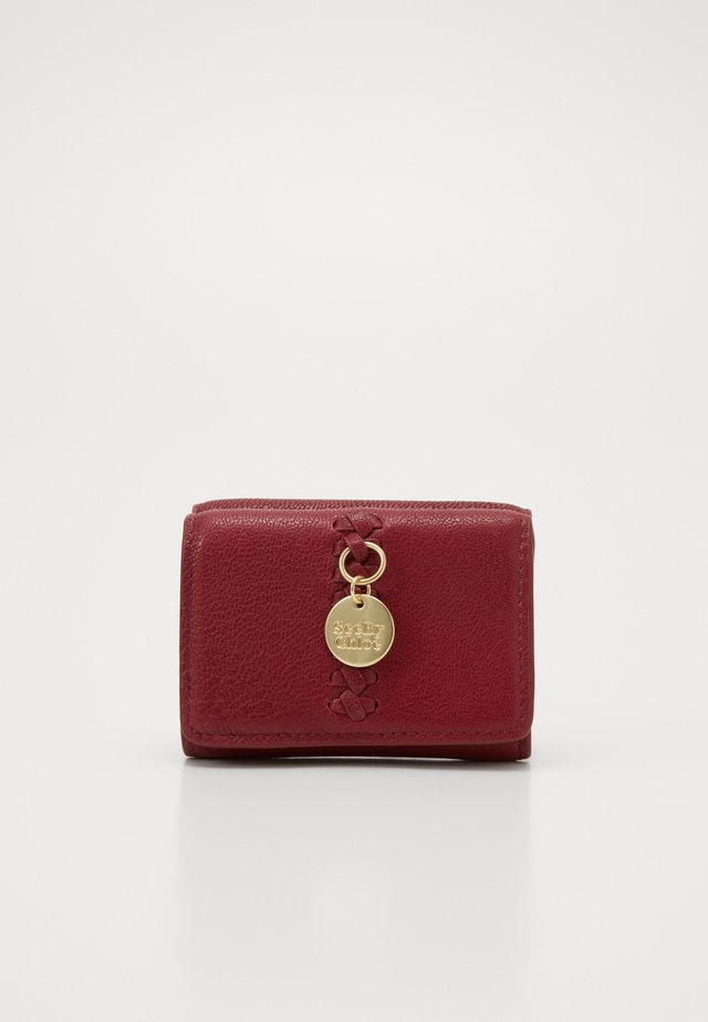 Wallet - plum purple