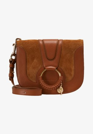 HANA SMALL - Across body bag - caramello