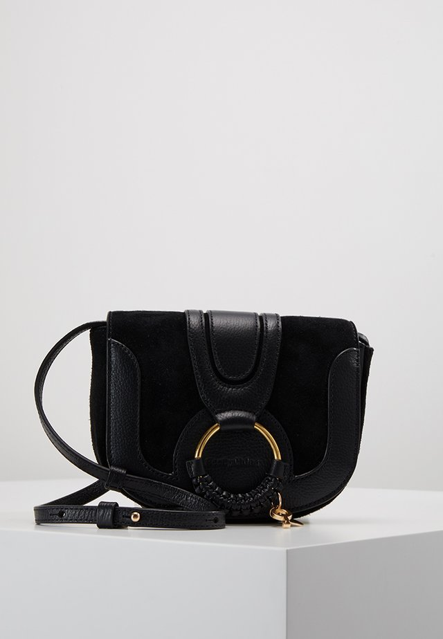 HANA MINI - Across body bag - black
