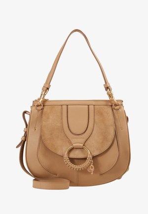 HANA SMALL - Handtas - coconut brown