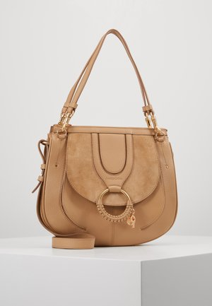 HANA SMALL - Borsa a mano - coconut brown