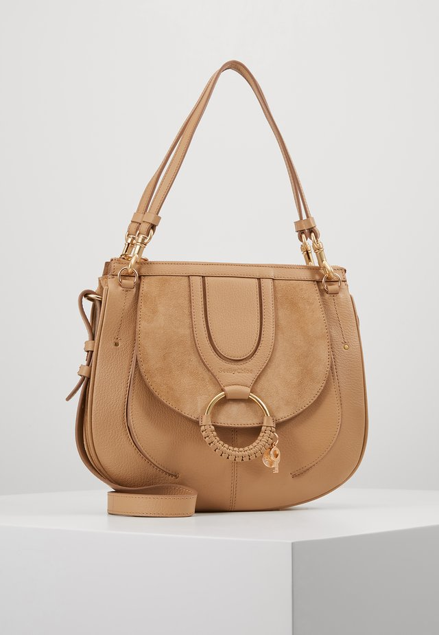HANA SMALL - Handtasche - coconut brown