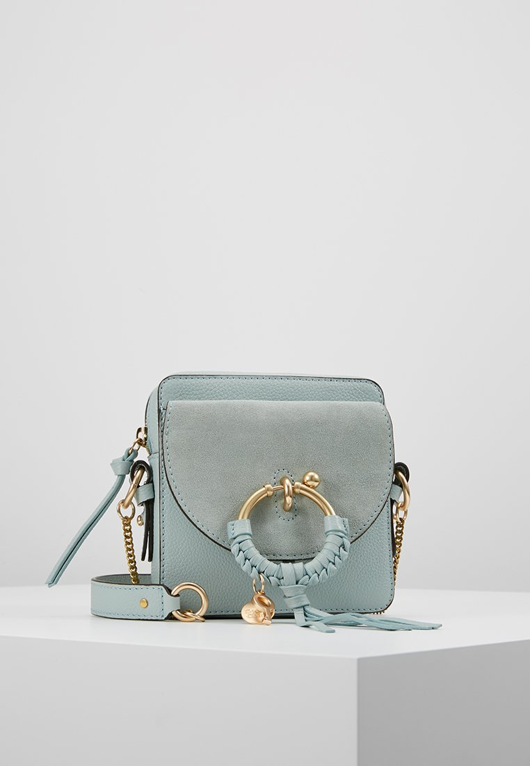 See by Chloé - JOAN MINI CAMERA - Umhängetasche - icy blue