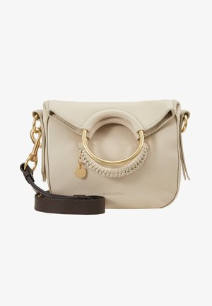 MONROE SMALL - Handbag - cement beige