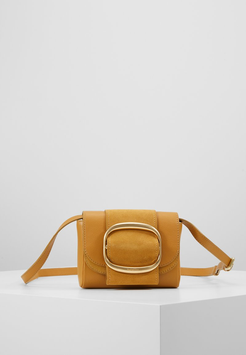See by Chloé - HOPPER - Across body bag - burnt yellow