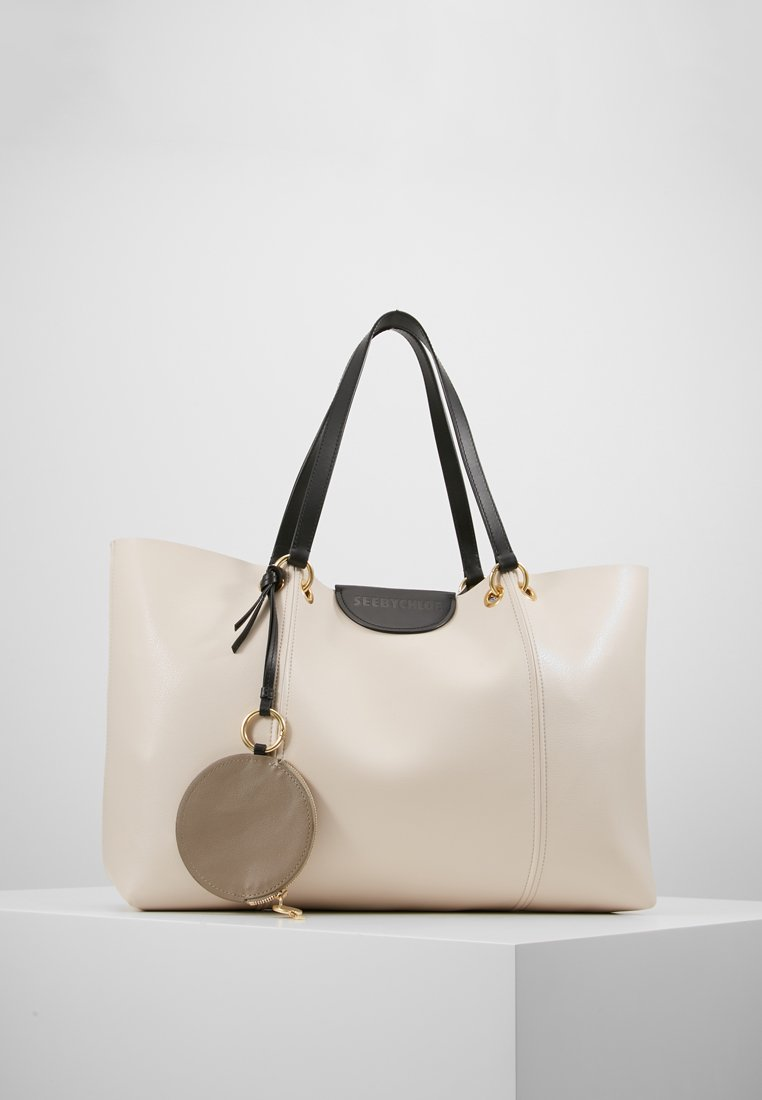 See by Chloé - MARTY - Shoppingveske - cement beige