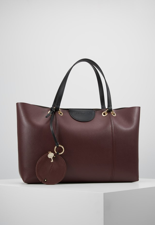 MARTY - Shoppingväska - burgundy
