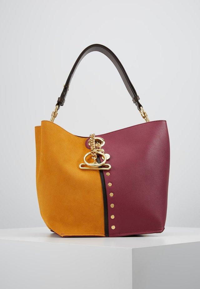 NEW BICOLOR SHOPPER - Handtasche - sienna rose