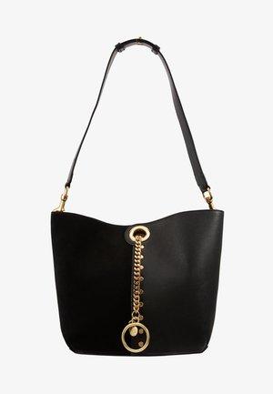 NEW BICOLOR  - Handtasche - black