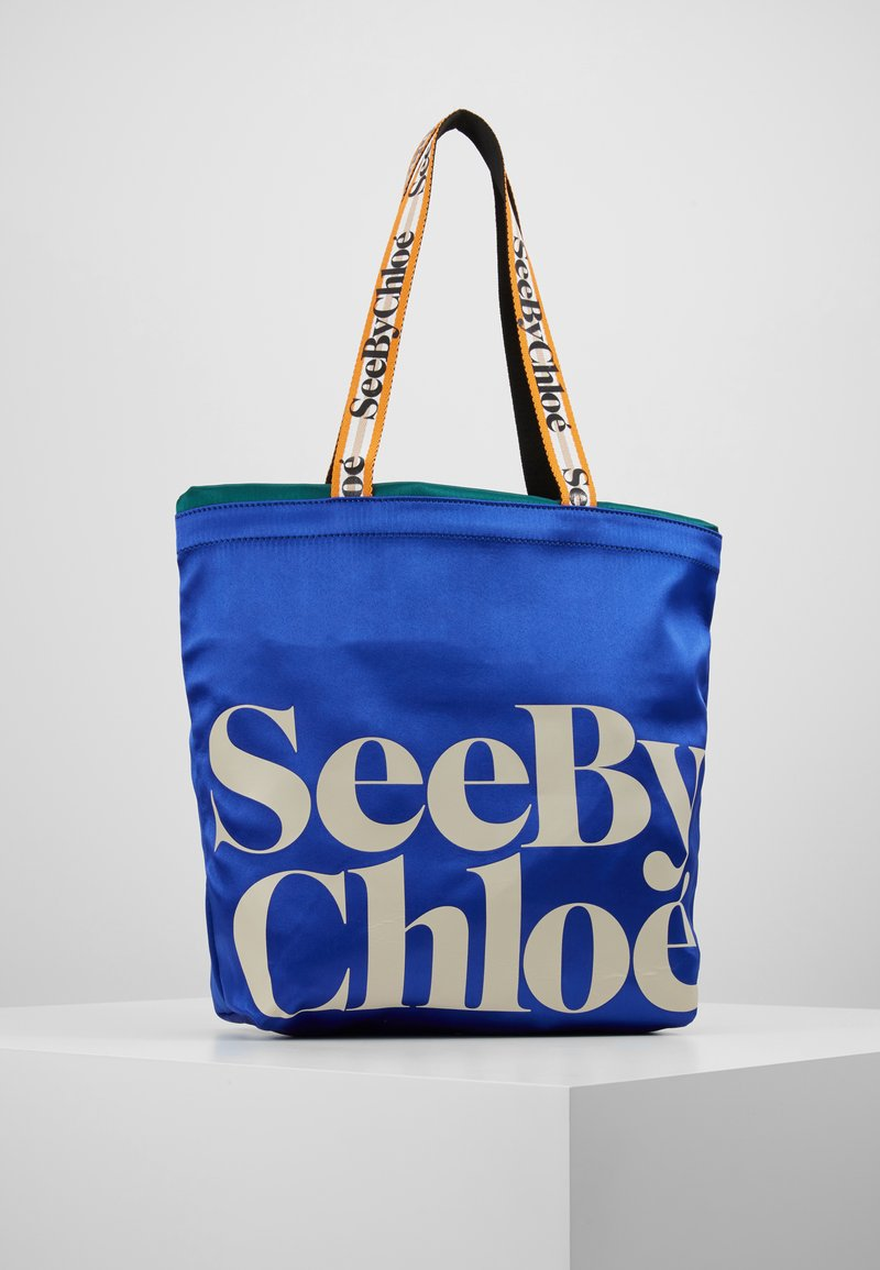 See by Chloé - MEDIUM BAG - Bolso de mano - absolute blue