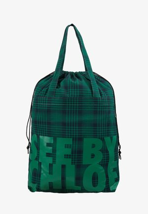 MEDIUM SHOPPING BAG - Handbag - nightfall green