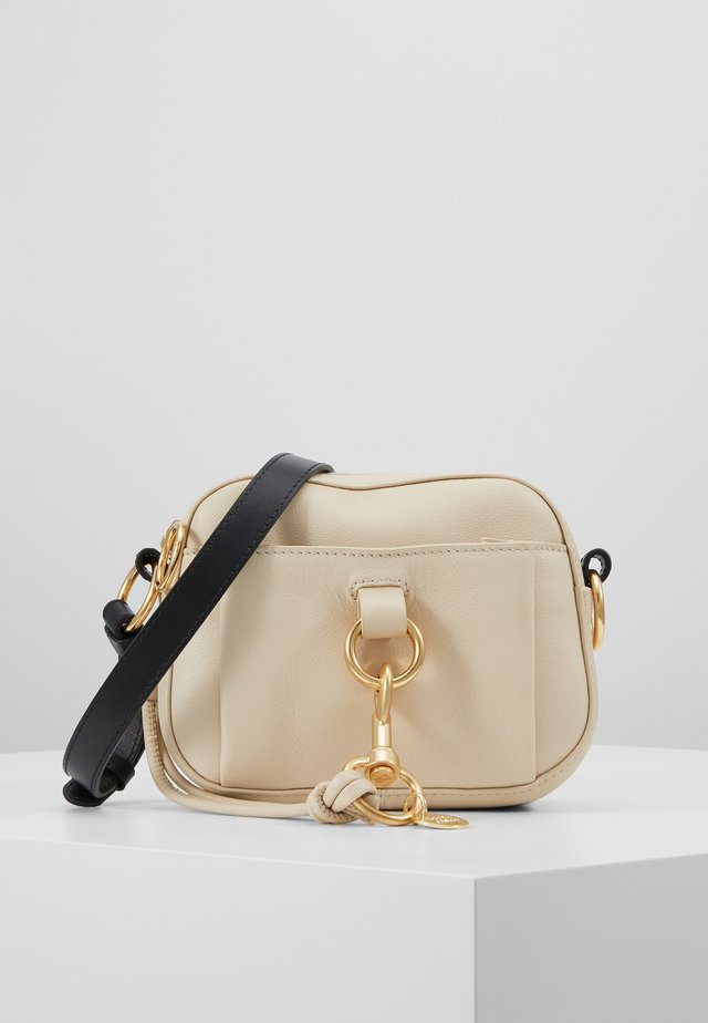 TONY CROSSBODY - Across body bag - cement beige