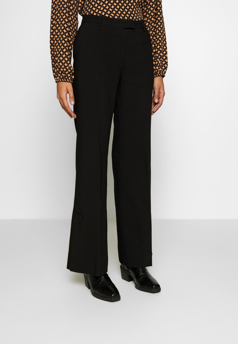 Second Female - HONNY TROUSERS - Pantalones - black