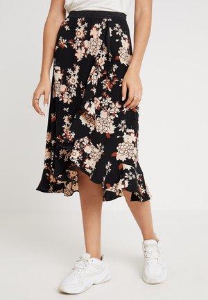 MOMAL MIDI SKIRT - A-line skirt - black