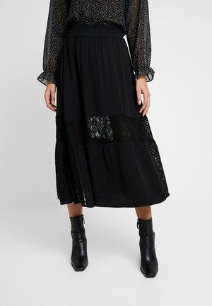 TEGAN SKIRT - A-line skirt - black