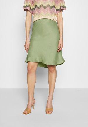 EDDY SHORT SKIRT - A-line skirt - tea