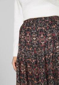 Second Female - SIGNE SHORT SKIRT - Mini skirt - black - 4