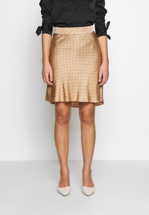 SHORT SKIRT - Minirok - praline
