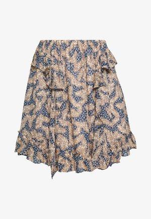 WILDLY  - A-line skirt - creme de peche