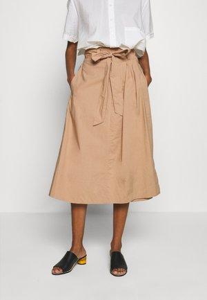 PHOEBE  - A-line skirt - praline