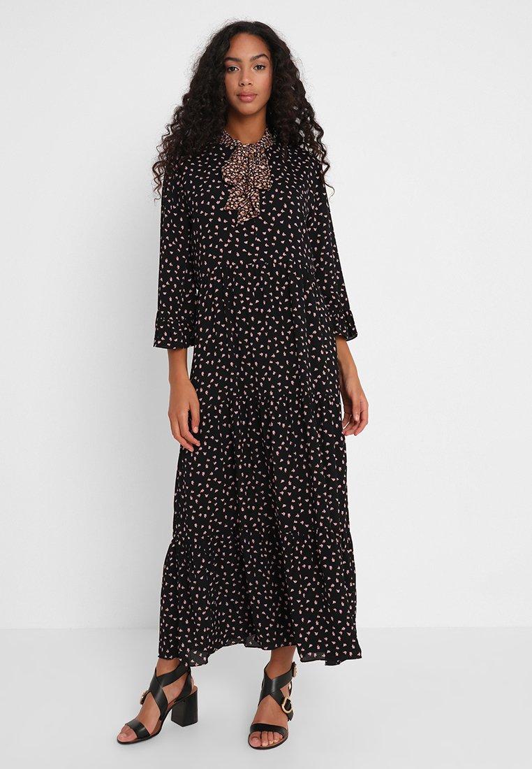 Second Female - SYRENIA DRESS - Maxi dress - black