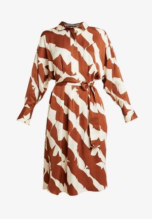 DISTANCE DRESS - Košilové šaty - tortoise shell