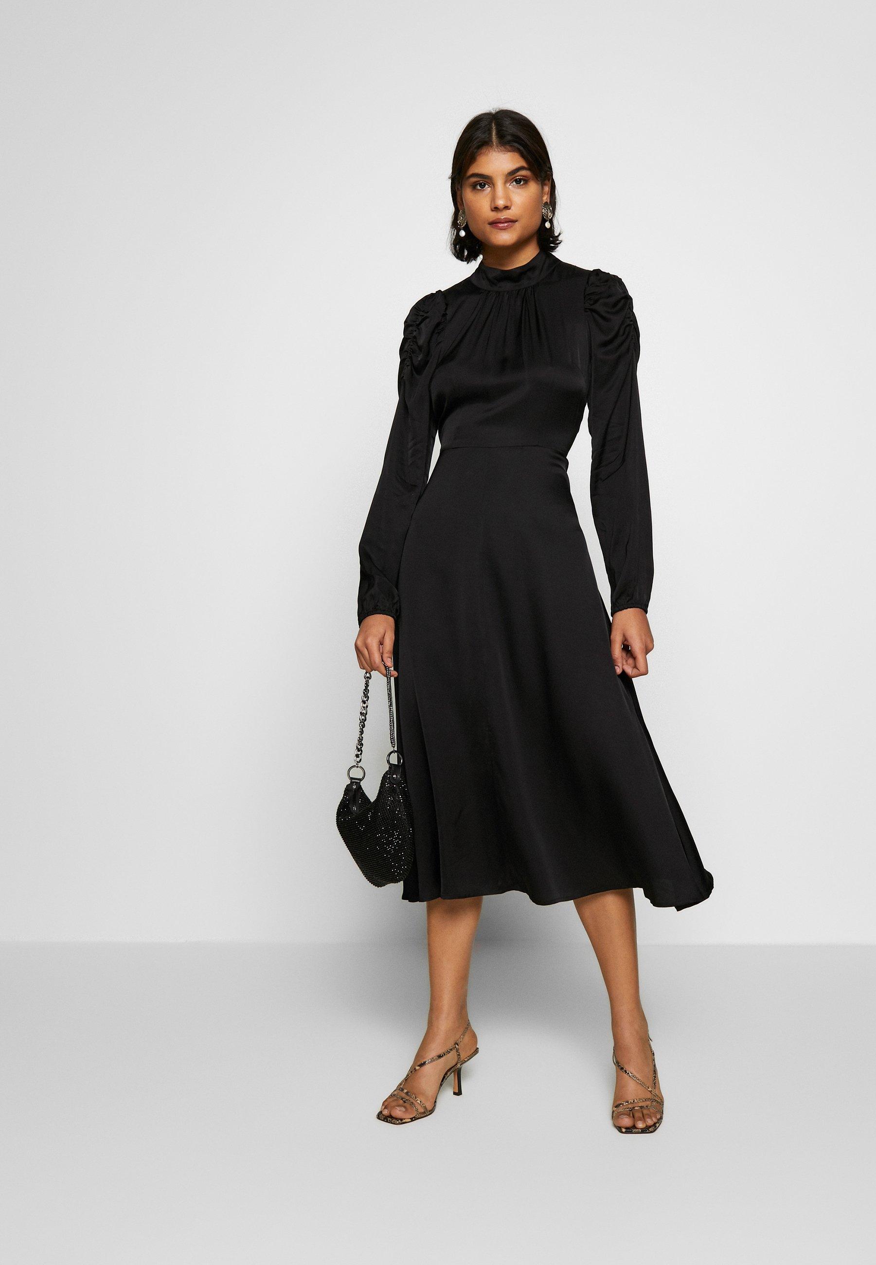 Second Female CLAIRE - Sukienka koktajlowa - black