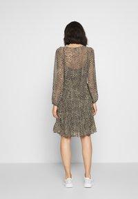 Second Female - REAL SHORT DRESS - Kjole - black - 2