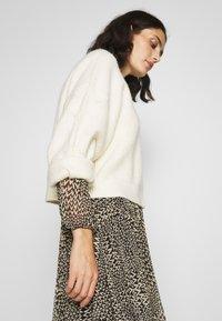 Second Female - REAL SHORT DRESS - Kjole - black - 3