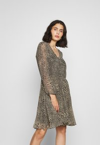 Second Female - REAL SHORT DRESS - Kjole - black - 0