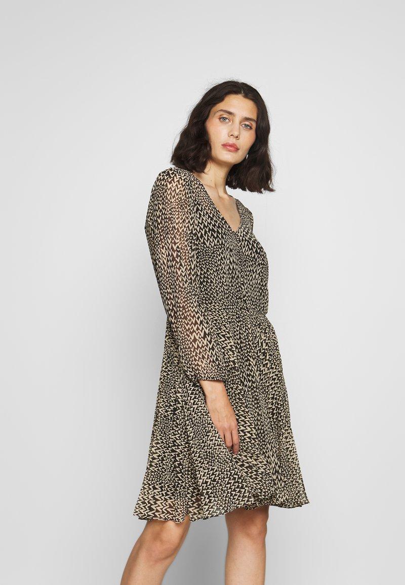 Second Female - REAL SHORT DRESS - Kjole - black