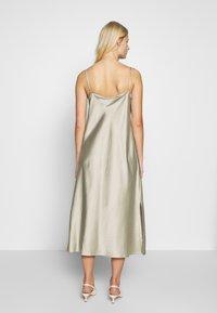 Second Female - ARZUR SLIP DRESS - Day dress - abbey stone - 2