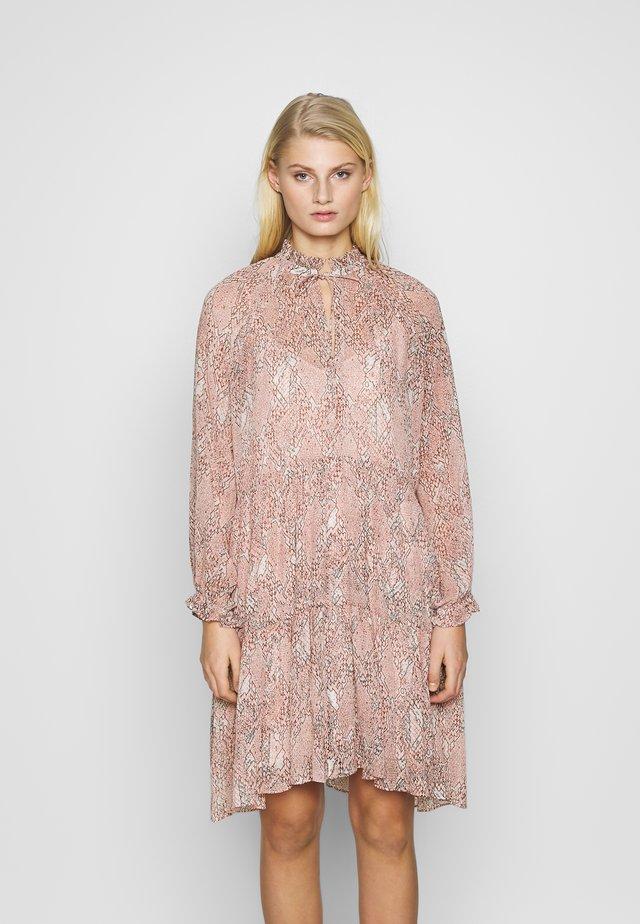 CRAYON SHORT DRESS - Sukienka letnia - eggnog