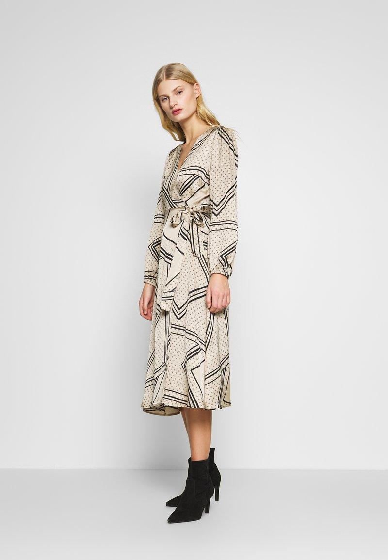 Second Female - ISA WRAP DRESS - Day dress - abbey stone