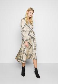 Second Female - ISA WRAP DRESS - Day dress - abbey stone - 1