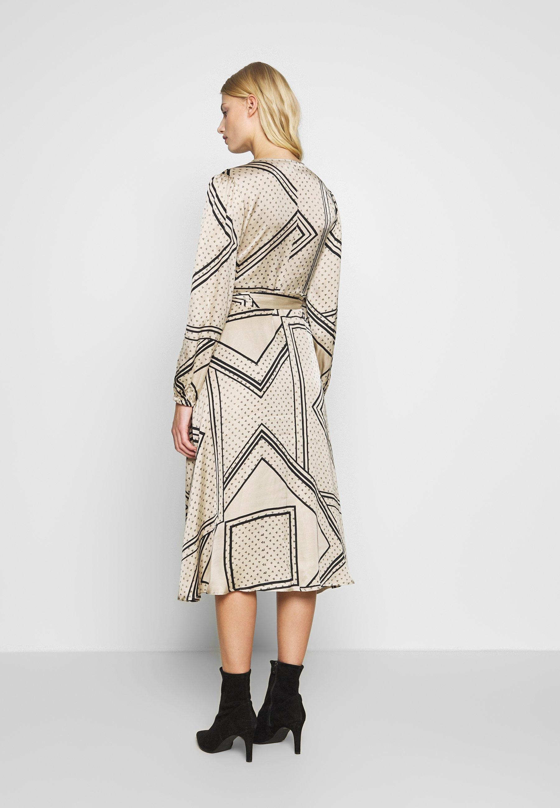 Second Female ISA WRAP DRESS - Sukienka letnia - abbey stone
