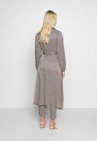 Second Female - WRAP DRESS - Day dress - black - 2