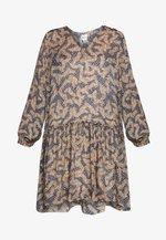 WILDLY SHORT DRESS - Robe d'été - creme de peche
