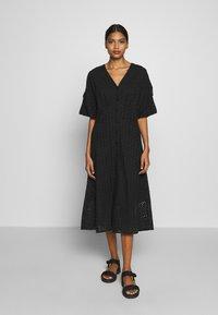 Second Female - MILLY DRESS - Kjole - black - 0