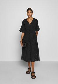 Second Female - MILLY DRESS - Kjole - black - 1