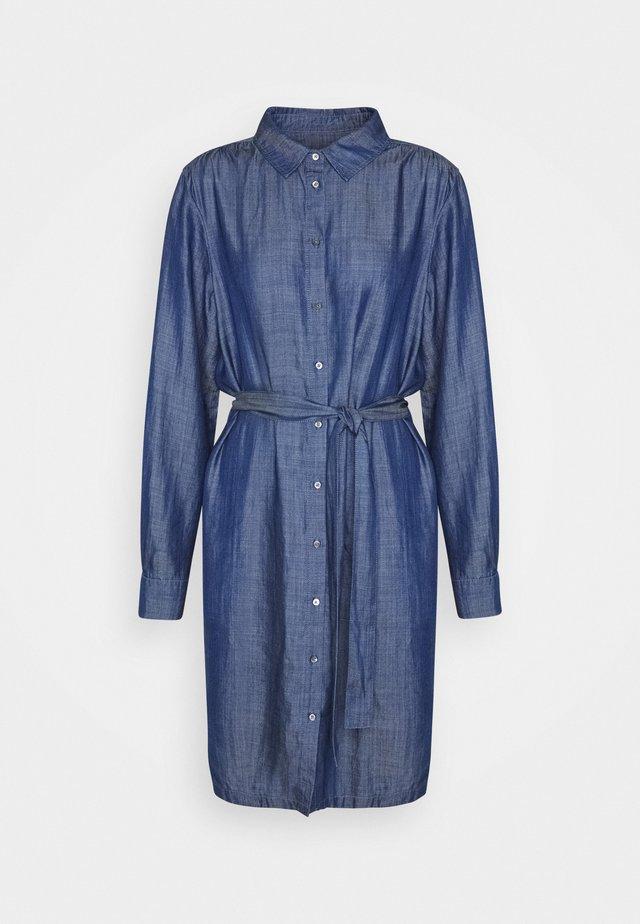 LILLA DRESS - Freizeitkleid - blue denim