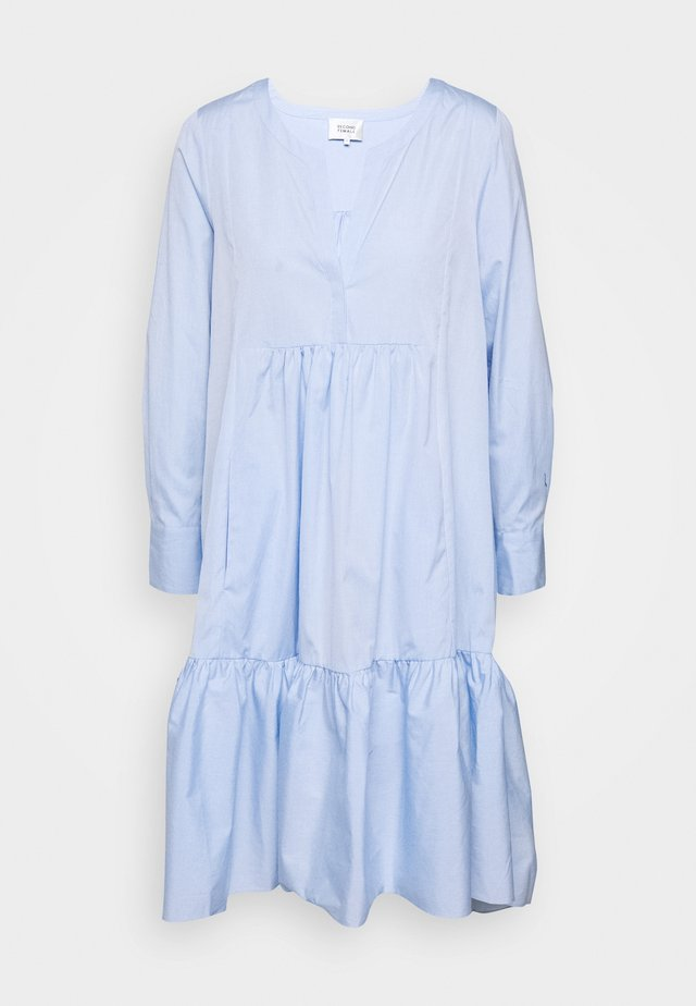HEAVEN MIDI DRESS - Korte jurk - chambray blue