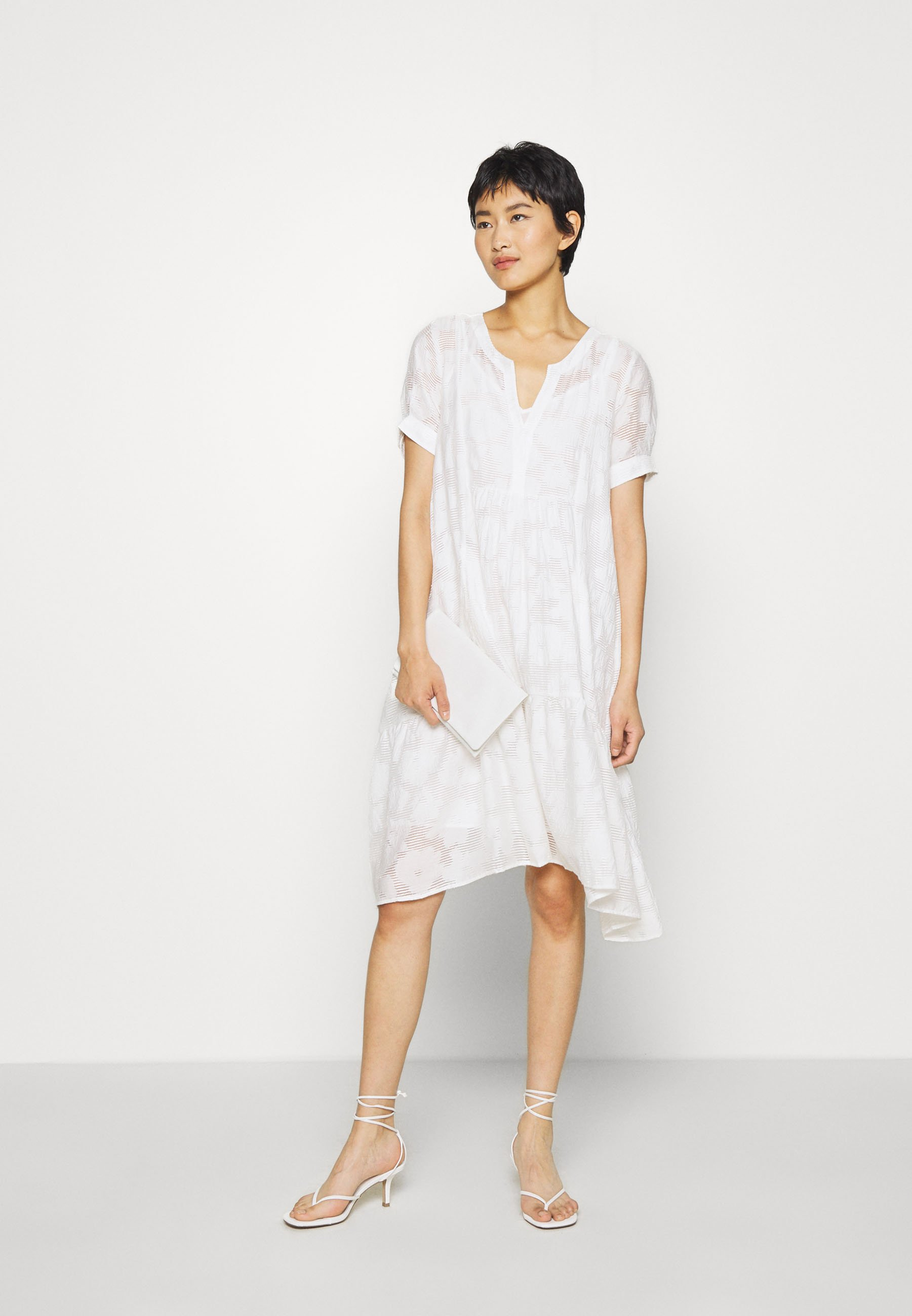 Résumé TEDDY DRESS Korte jurk white Zalando.nl